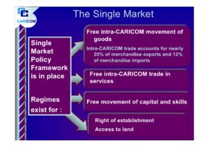 Caricom single market policy framework